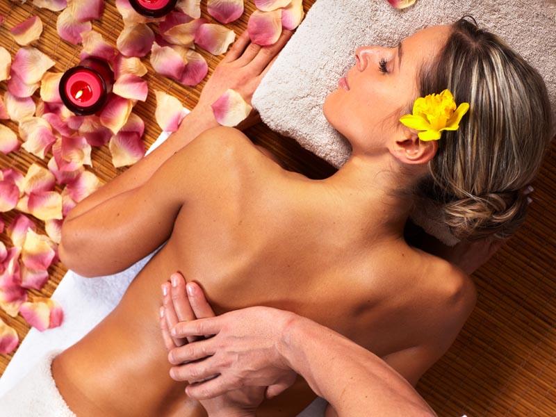 back massaging