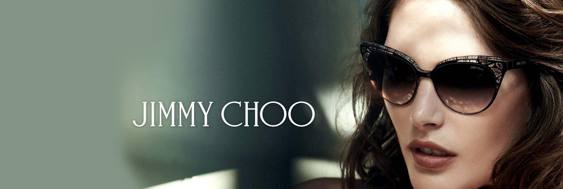 lady wearing jimmy choo frame